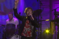 Watch Beck Salute George Harrison on 'Conan' With 'Wah-Wah'