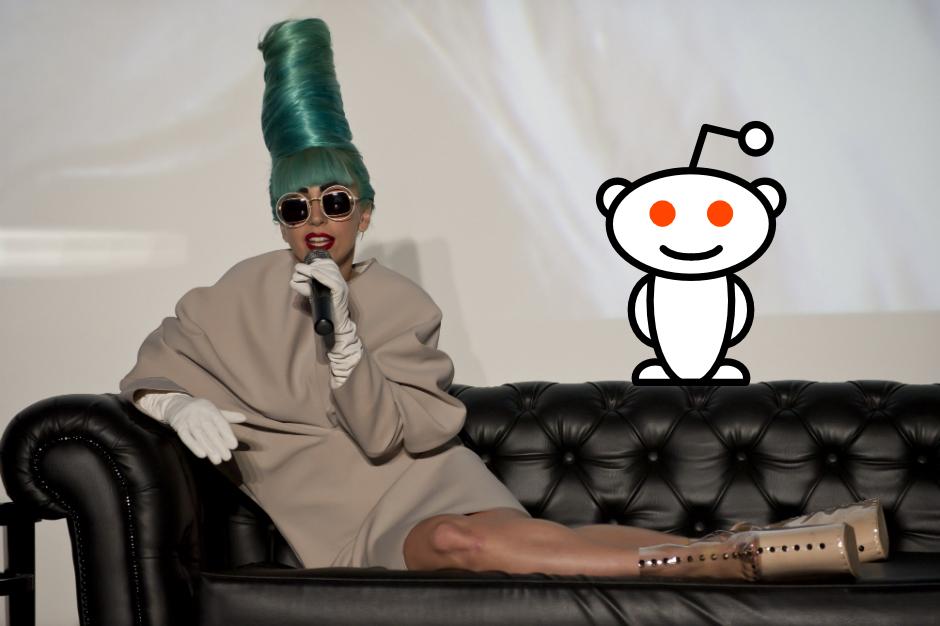 lady gaga reddit ask me anything ama