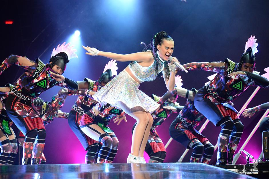 Katy Perry Super Bowl Teenage Dream Halftime Show Prism