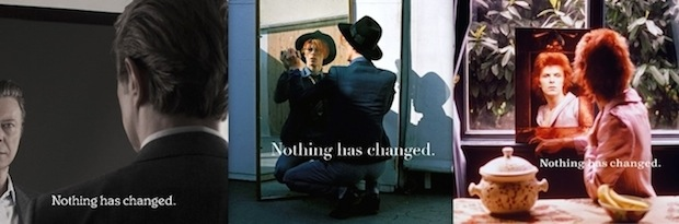 David Bowie Nothing Has Changed Cover