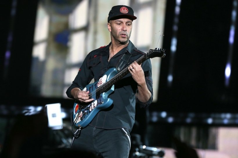 Tom Morello Marching on Ferguson Protest Song Rage