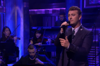 Sam Smith Brings Latest Single 'I'm Not the Only One' to 'Fallon'