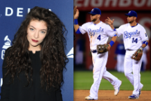 lorde, royals, giants, san francisco, kansas city, baseball, world series, radio