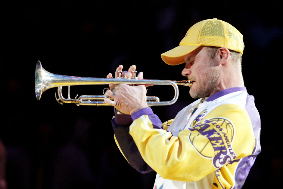 Flea, Red Hot Chili Peppers, Lakers, Kobe Bryant