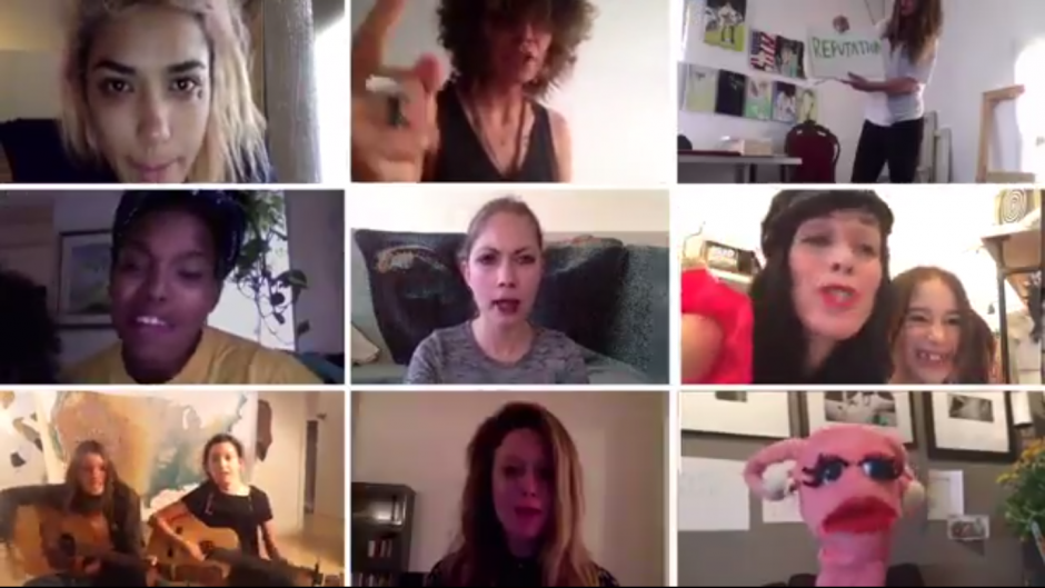 Watch Joan Jett, Sia, Carrie Brownstein, and More Fight for Women's Rights