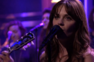Watch She & Him 'Stay A While' On 'The Tonight Show'