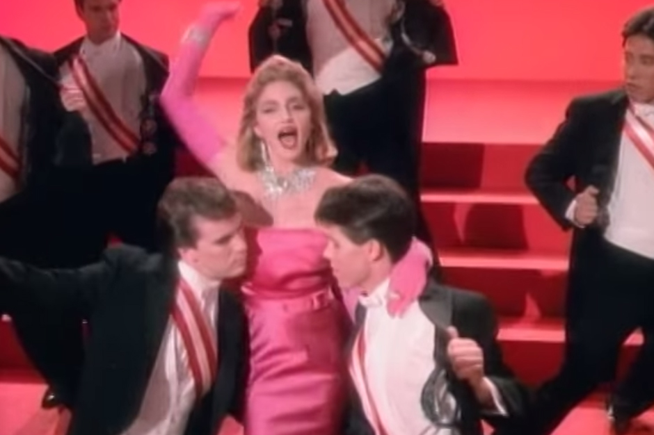 madonna, auction, material girl, dress