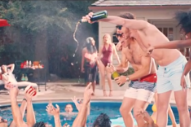 Alt-J Throw a Fancy Pool Party With a Dark Twist in 'Left Hand Free' Video