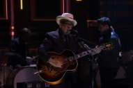Elvis Costello, Jim James, and More Perform as New Basement Tapes Supergroup on 'Fallon'