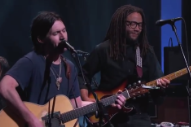 Conor Oberst Goes 'Zigzagging Toward the Light' on Late Night TV