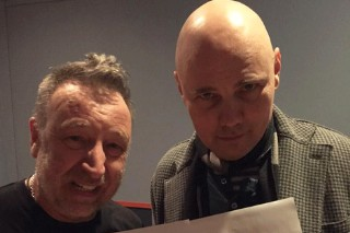 Watch Peter Hook, Billy Corgan, and Jeff Schroeder Perform 'Love Will Tear Us Apart'
