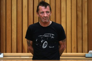 AC/DC Drummer Phil Rudd Reportedly Acts Erratic in Court