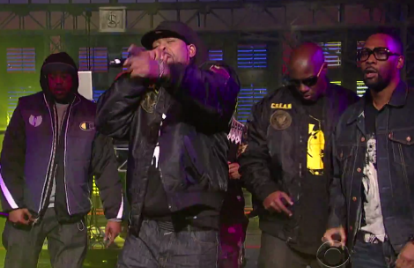 Watch the Wu-Tang Clan Cause a 'Ruckus in B Minor' On 'Letterman'