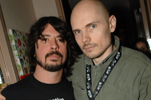 Dave Grohl, Billy Corgan