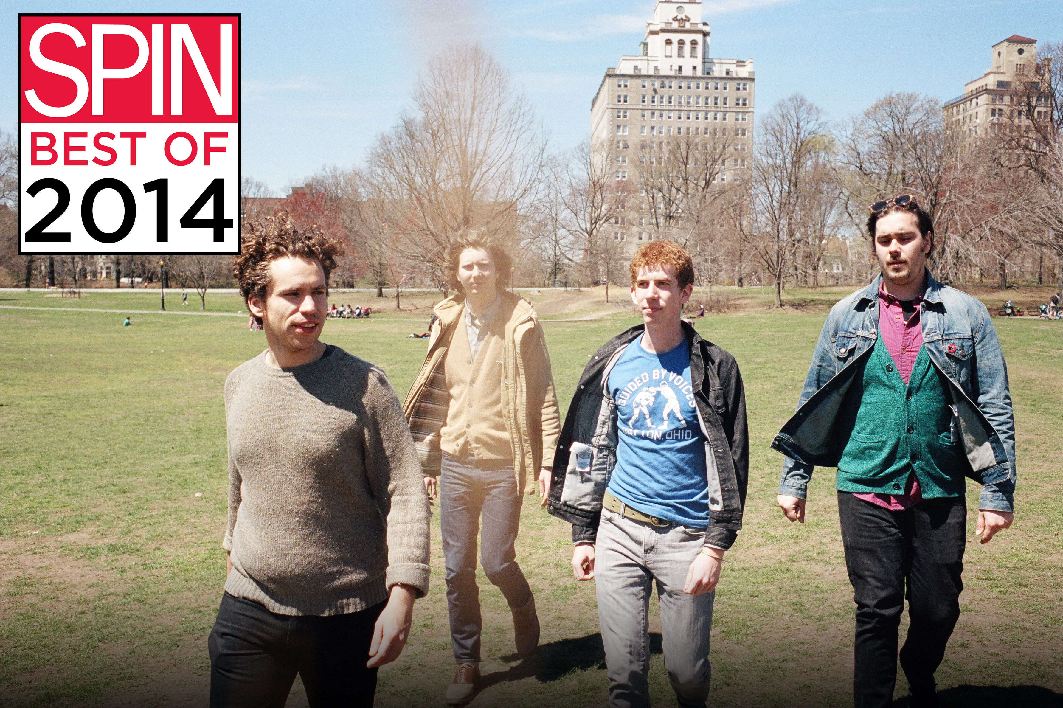 Parquet Courts Are SPIN's 2014 Band of the Year