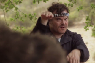 Jack Black Kung Fu Fights a Bear, Loses, In New OFF! Music Video