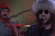 King Tuff Deck the Halls During Late Night Performance