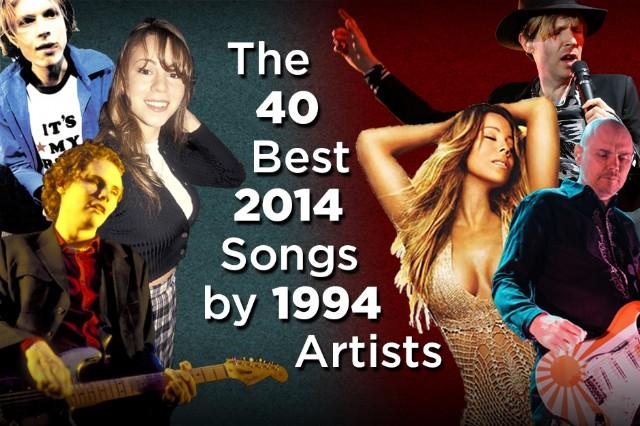 2014, 1994, Billy Corgan, Beck, Mariah Carey