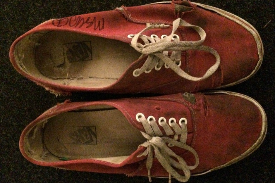 Mac DeMarco, shoes