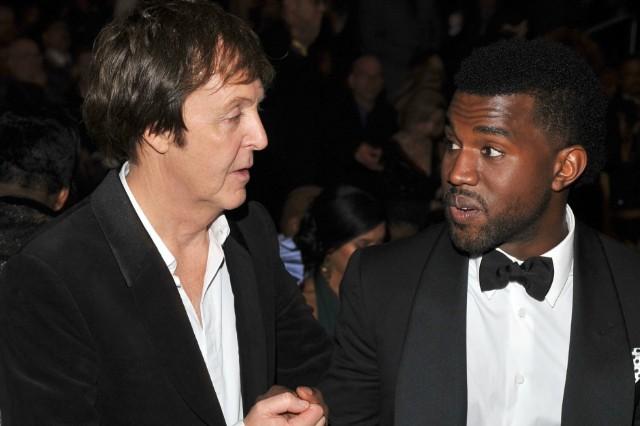 Kanye West, Paul McCartney