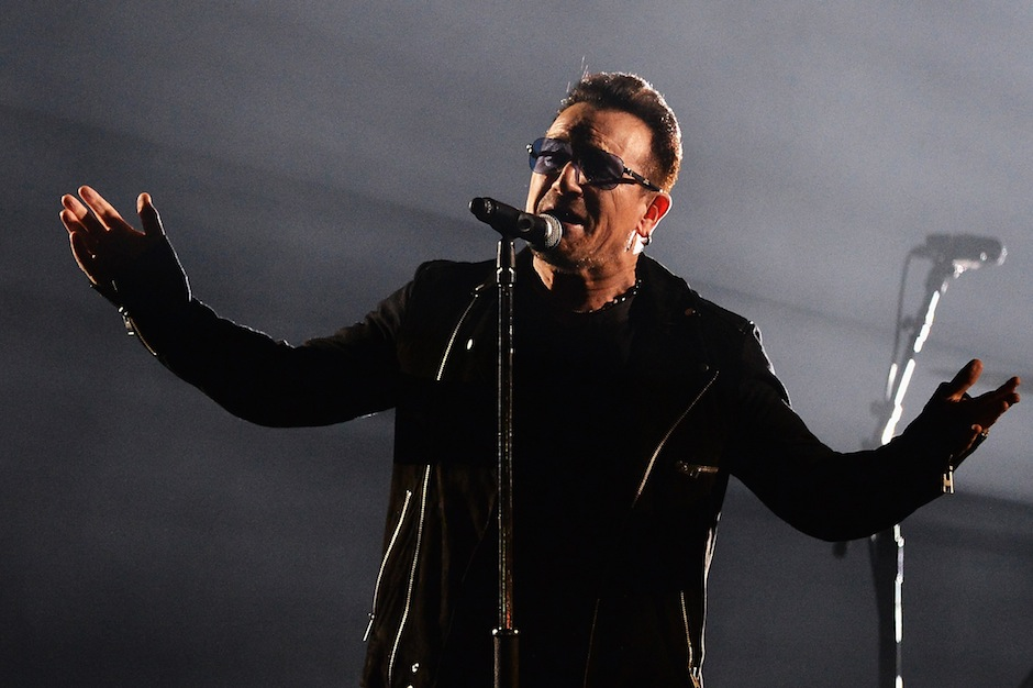 Bono Bike Accident May Never Play Guitar Again