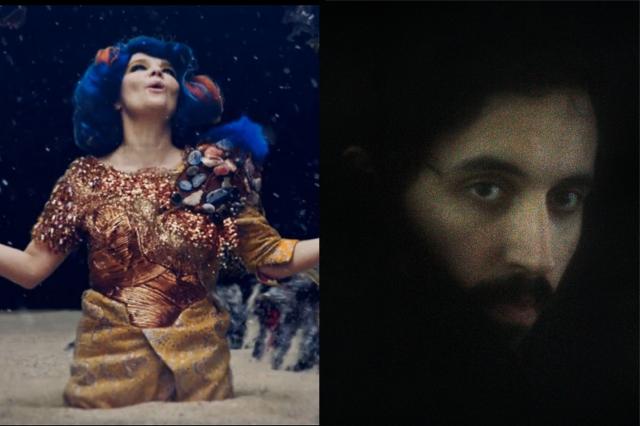 Björk, the Haxan Cloak
