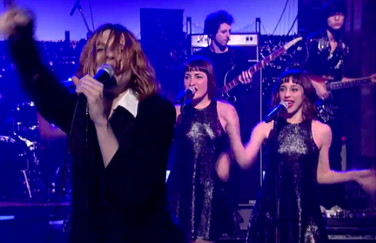 Foxygen Sing and Dance Like Maniacs on 'Letterman'