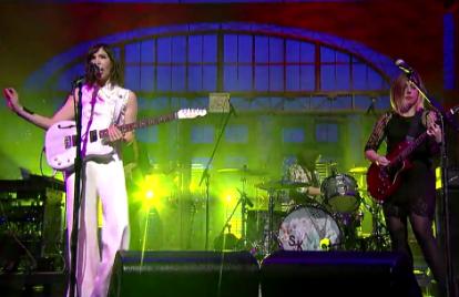 Sleater-Kinney Start 'A New Wave' on 'Letterman'