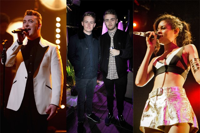 disclosure, alunageorge, sam smith
