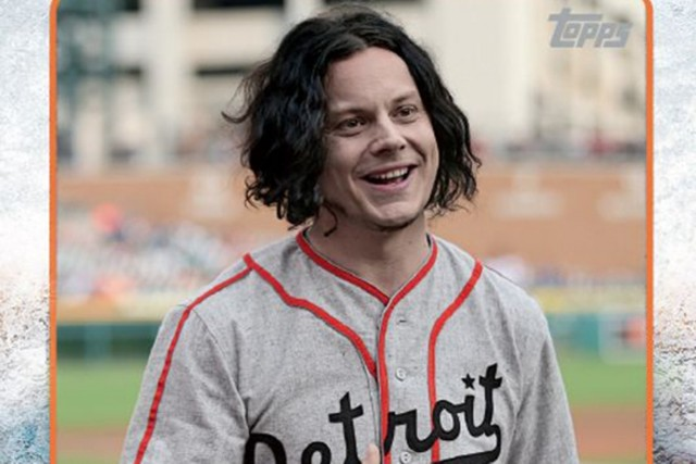 Jack White, Baseball Card, Topps