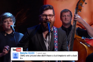The Decemberists Perform YouTube Comments Live on 'Kimmel'
