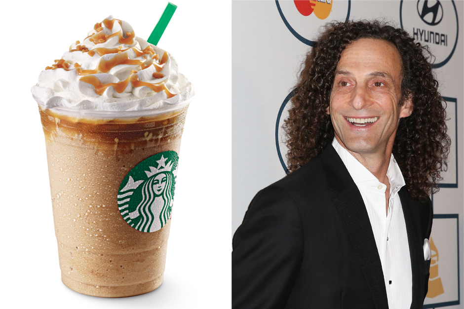 Kenny G, Starbucks, Frappuccino