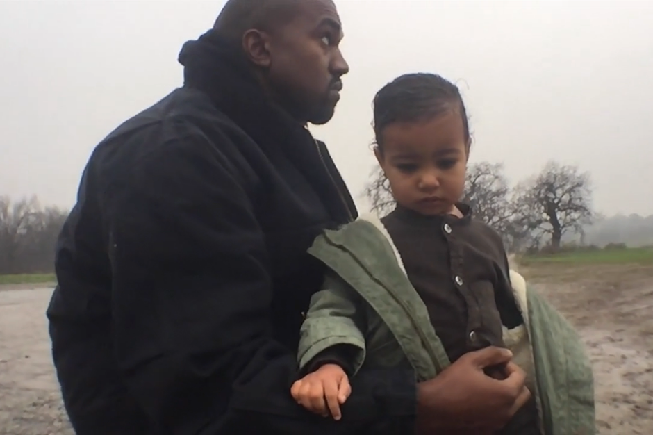 Kanye West and His Daughter Bond in Spike Jonze-Directed ...