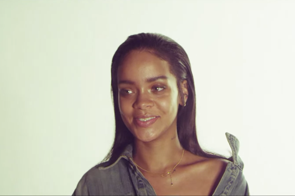 Go Behind The Scenes On Rihanna Kanye West Paul McCartneys FourFiveSeconds Video