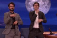 Watch the Duplass Brothers Air-Drum Rush's 'Tom Sawyer' Drum Solo on 'Conan'
