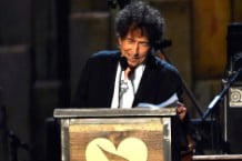 Neil Young Jack White Bruce Springsteen Bob Dylan Musicares Tribute Concert Grammys Video