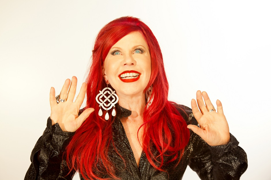 kate pierson, guitars and microphones, b-52s