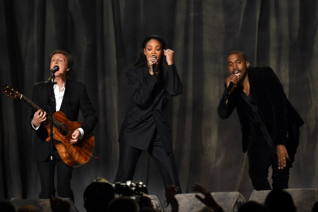 Kanye West, Rihanna, Paul McCartney, FourFiveSeconds