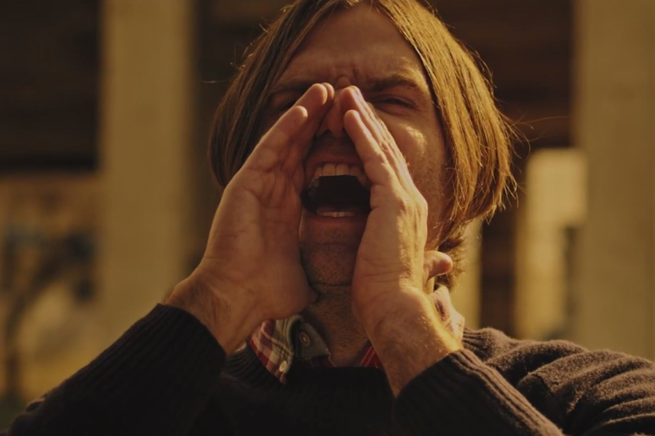 death cab�s ben gibbard directs a fake action movie in