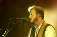 Justin Vernon Joins The Staves Onstage in London