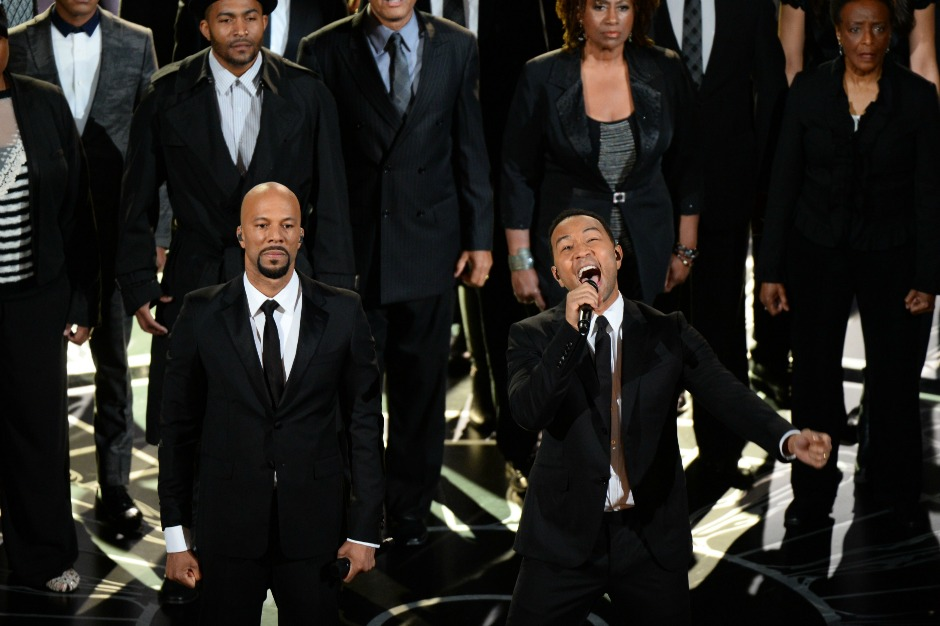 Common and John Legend Win Best Original Song Oscar for 'Glory'