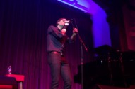 Mark Kozelek Joins Ben Gibbard Onstage For Postal Service's 'Such Great Heights'