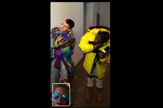 A$AP Ferg FaceTimes With Cara Delevingne in 'Dope Walk' Video