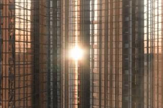Django Django Make Art Out of Buildings in Their 'First Light' Video