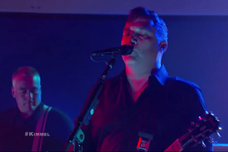 The Afghan Whigs Covered Fleetwood Mac's 'Tusk' on 'Kimmel' Last Night