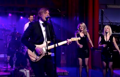 Watch Will Butler Blow David Letterman's Mind With a Performance of 'Take My Side'