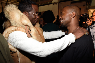 See Kanye West and Diddy Work 'All Day' in the Studio