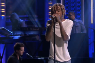 Wiz Khalifa Plays Surprisingly Not-Furious Song Off 'Furious 7′ Soundtrack on 'Fallon'