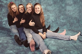 Review: Chastity Belt Turn Goth Into Wry Feminism on 'Time to Go Home'