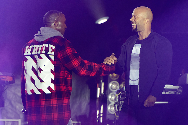 Kanye West, Common